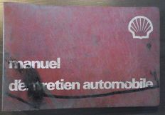 Car maintenance - large manual with Polychart system of maintenance - edited by SHELL in 1979