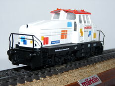 Märklin H0 - 36503 - Diesel locomotive 'Henschel' DHG 500 in 'Start-up' colours