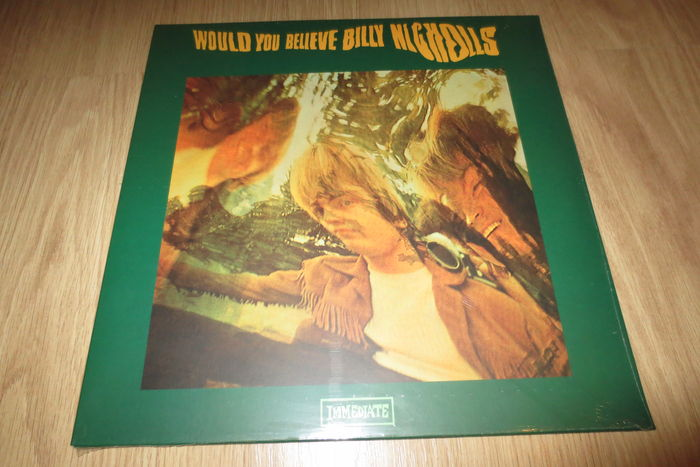LP: Billy Nicholls ‎– Would You Believe - Unofficial Release! (MINT, sealed)