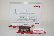 Märklin H0 - 47704 - Set container carriages of NS Cargo