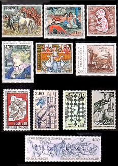 Europe, including England and USA - Stamp collection