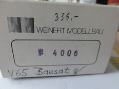 Weinert H0 - 4006 - building Kit for Diesel locomotive  V65, with motor