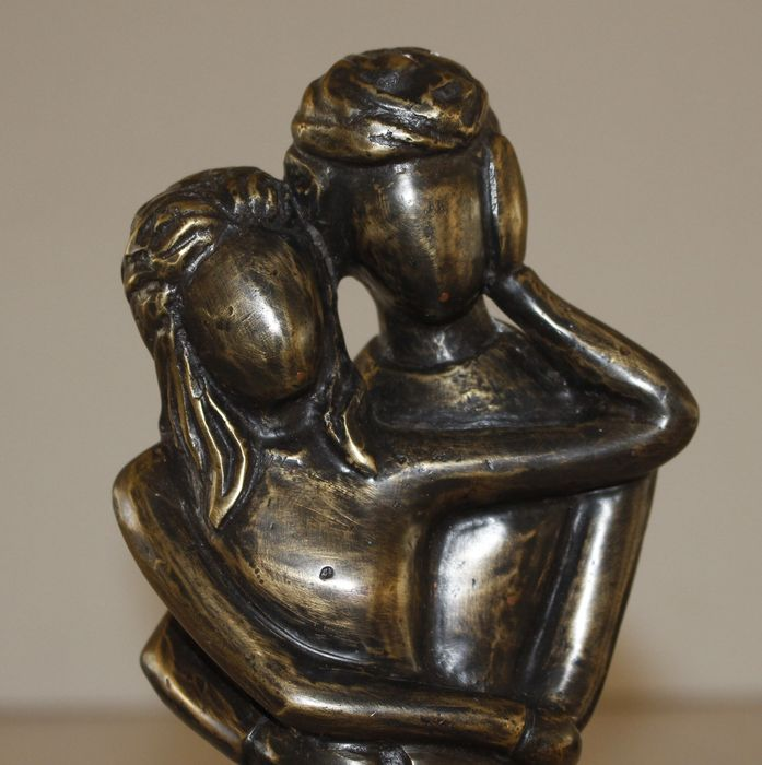 bronze statue married couple italy catawiki. Black Bedroom Furniture Sets. Home Design Ideas
