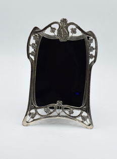 Italian designed sterling silver photo  frame , international hallmarked 800