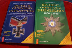 German Orders and Decorations 1800-1945 (OEK) + German Medals and Decorations: German Empire, Weimar Republic, Third Reich, GDR and Federal Republic of Germany from 1871 until today - paperback