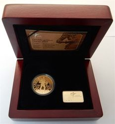 The Netherlands – Double ducat Beatrix 2009, with certificate and case, gold