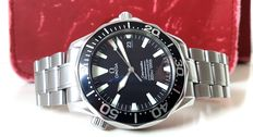 "Omega Seamaster Professional 300m ""Big Triangle"" men's watch – full set from 2000 with service warranty – ref. 22.54.5000"