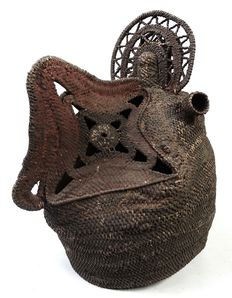 Baba mask from Wosera - ABELAM - Papua New Guinea + important provenance