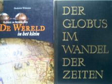 Reference works; lot with 2 overview works globes - 1961/2006