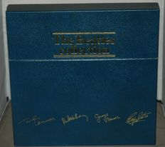 The Beatles Collection 13 records LP's  in nice Original Blue Box