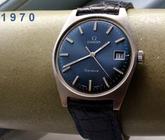 Omega - Geneva - Vintage men's watch - 1970 + Warranty!