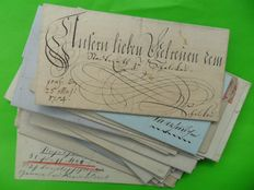 German Reich 1736/1915 - A collection of Old letters,covers