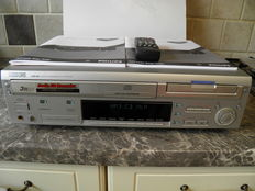 Philips 3CD player & 1 CDR Recorder CDR 802 - Audio Recorder with original remote control and packaging