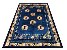 Fantastique Tapis Imperial de Chine: Kangxi Beijing Antique Finish 280x185 cm