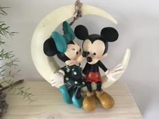 Disney, Walt - Beeld - Minnie & Mickey Mouse Maan (jaren '80)
