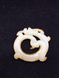 Jade pendant - China-early 20th century