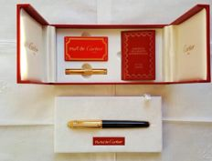 Pen Must de Cartier with brilliants