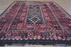 Maimana kilim - approx. 274 x 198 cm - with certificate - 20th century