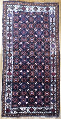 Rare Antique Persian Luri Rug 305x153cm