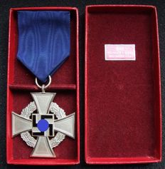 Germany Faithful Service Honour Badge 2nd Class. Original case.