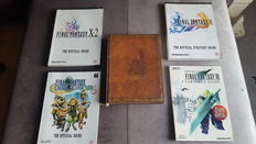 5 Final Fantasy Guides - 1 Hardcover Strategy Guide and 4 soft strategy guides for playstation and Nintendo Gamecube