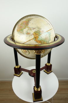 Franklin Mint - The Royal Geographical Society, The Millennium Edition - Exclusieve, zeldzame globe