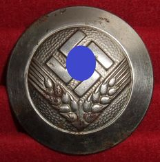 Third Reich. Reich labour service of the female youth. Brooch for a working maid.