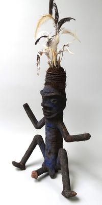 Gable initiation figure - MALEKULA - Vanuatu + provenance