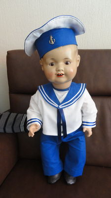 Sailor doll, around 1930, Sonneberg 2542/9