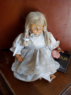 DOLFI original wooden doll