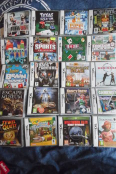 Nice lot of 20 original DS games