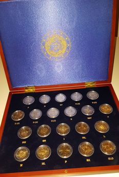 Europe - 2 Euro 2010 '10 Years of Euro' (21 different coins)