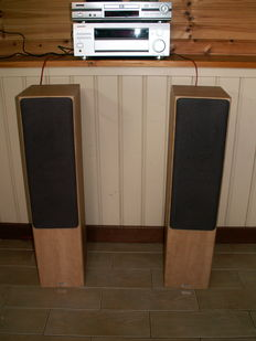 A speaker set by the English top brand TANNOY, type MERCURY F3.