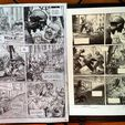 Original Comic Art auction
