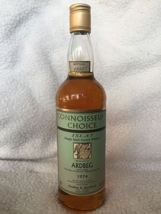Ardbeg 1974, bottled 1997 Connoisseurs choice