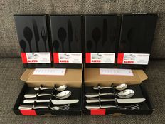 Alessi Nuovo Milano cutlery set - 24 pieces, for 6 people