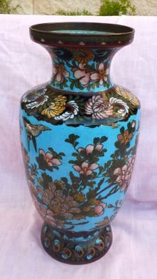 Cloisonné vase - Japan - early 20th century