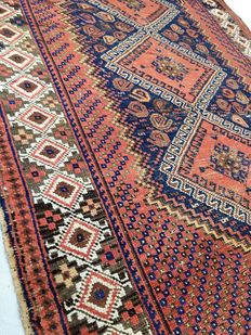 Incredible handmade Persian rug: Antique Afshar 170 x 115 cm circa 1930!!!!