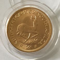 South Africa – 2 Rand 1962 – Gold