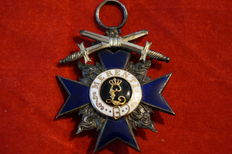 Military merit cross with swords Bavaria 4th class