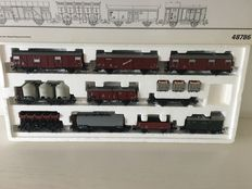 "Märklin H0 - 48786 - Carriage set ""10 years carriage productionSonneberg"" with 10 different carriages of DB"