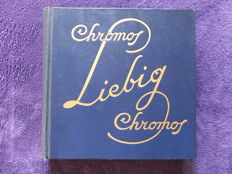 Liebig -  300  cards in the original album - French - since 1921