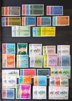 Europa Stamps – Collection 1962 up to and including 1979
