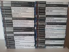 40 PS2 Games (Most are Complete With Manuals)