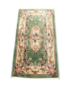 Beautiful oriental rug from China: Kangxi Aubusson 128x69 cm