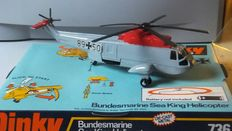 Dinky Toys - Schaal 1/76 - Sea King Helicopter 'Bundesmarine' No.736