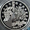 """France 6,55957 francs 2001 (PROOF) """"The last euro conversion coin"""""""