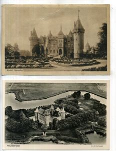 The Netherlands, castles, palaces, country houses, 1900-1960; 100x