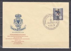 Berlin – Michel 120 to 863 selection FDC, used postal items and 2 binder pages Michel 22/23 o and some ETB
