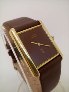 Must de Cartier Tank - Ladies - 1980's